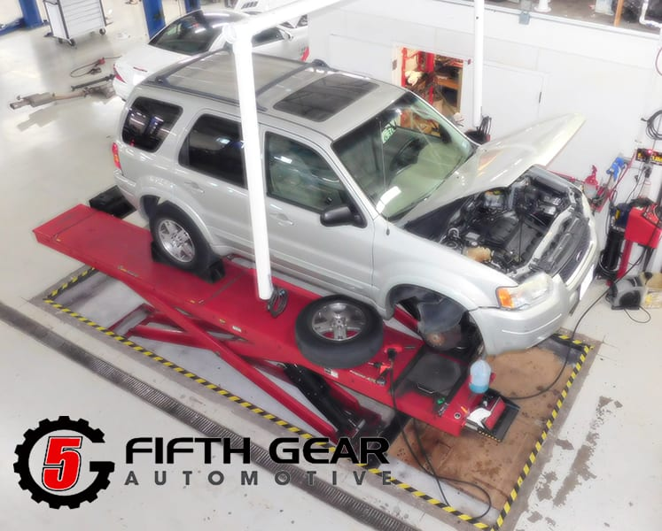 Fifth Gear Automotives Lifetime Wheel Alignment Package